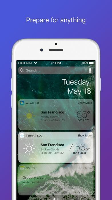Terra Sol - Beautiful Sunrise & Sunset times app