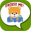 Cute Cat Emoji- Пользовательские наклейки на клави
