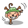 Mighty Monkey sticker