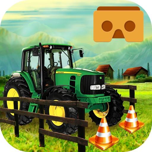 VR Farming Tractor Parking Driver - More Village iOS App