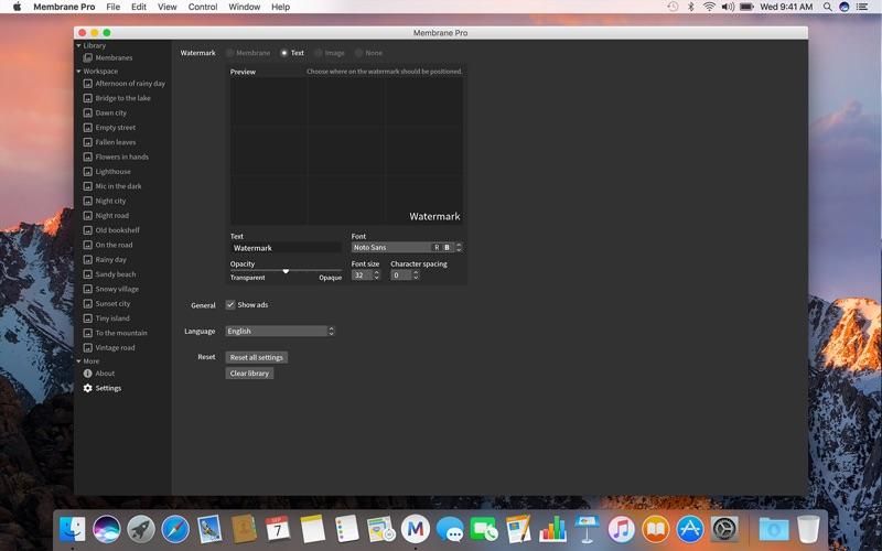 Membrane Pro Screenshots
