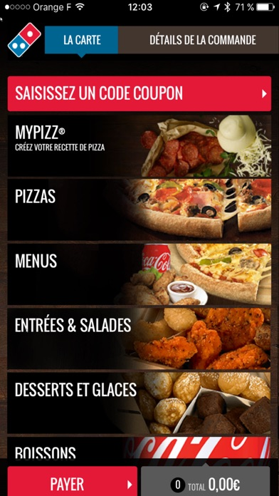 download Domino's Pizza France apps 4
