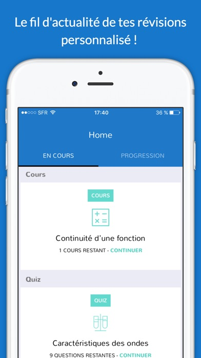 iphone screenshot 5 - Resume Cours Science Bac Math