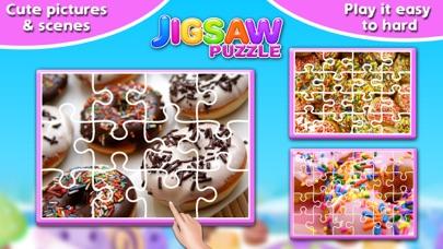 Screenshot #6 for Sweet Donuts Jigsaw Puzzle - Sweet Logic Game