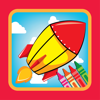 Game for Family Coloring Rocket Drawing Wiki