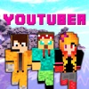 Youtuber Skins - New Skins for Minecraft PE & PC
