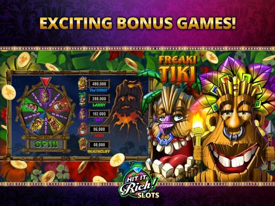 Hit it Rich! Casino Slots iPad