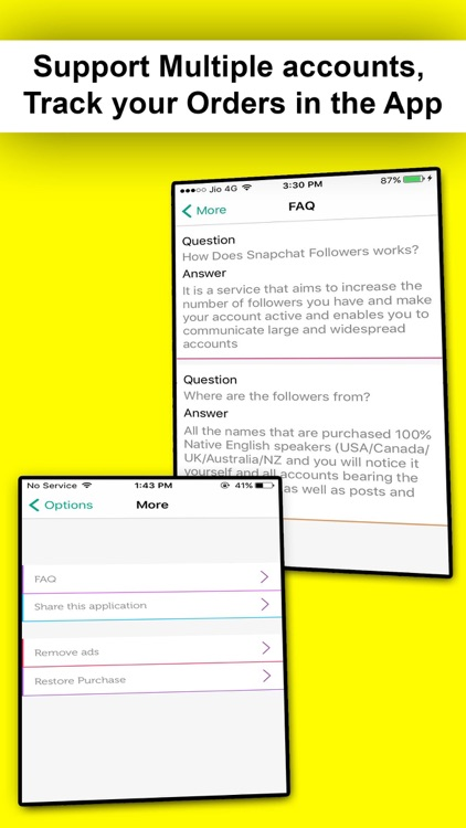 Get Followers for Snapchat and Snap Views by TOP MEDIA