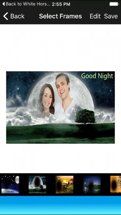 Sweet Good Night Photo Frames Selfie Pic Editor HD by Mahendra Kumar ...
