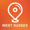 West Sussex, UK - Offline Car GPS