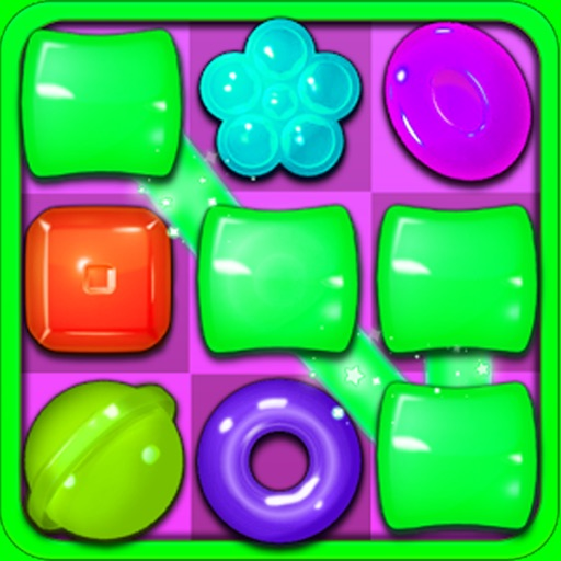 Awesome Candy Puzzle Match Games iOS App