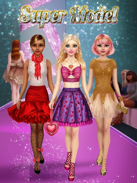 топ модель салон - макияж и моды игры для девочек на iPad