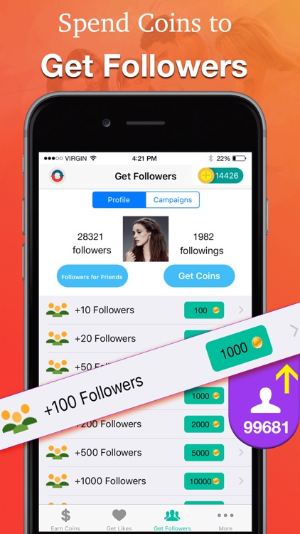 Follower Booster: Gain/Get followers for Instagram by Cuihua