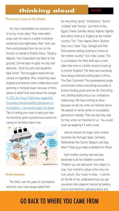 Hypothetical Africa review screenshots