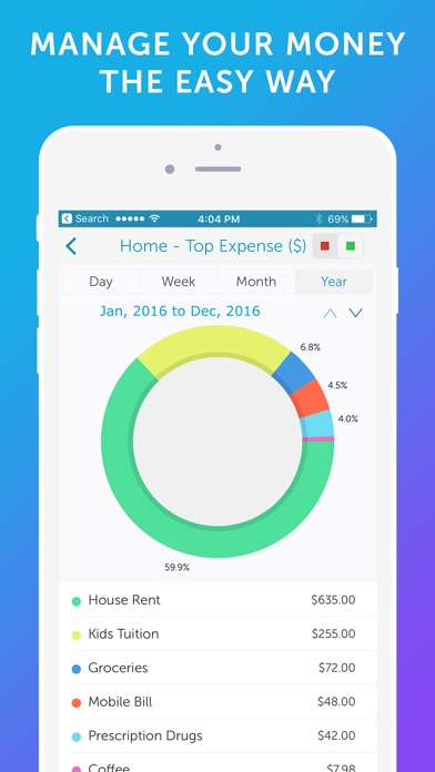 Easy Spending - Money Tracker & Budget Planner Скриншоты3