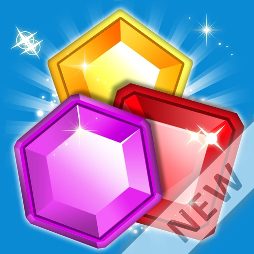 Best Match 3 games: Jewel Quest Classic iOS App