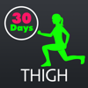 30 Day Thigh Slimming Fitness Challenges