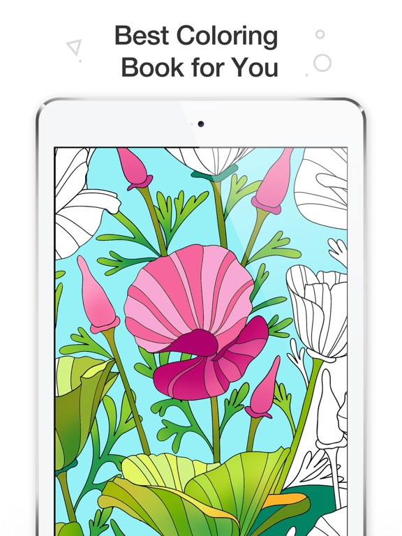 Coloring Book for Adults Color Me Coloring Pages on the App Store