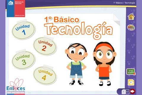 Tecnología 1º Básico screenshot 1