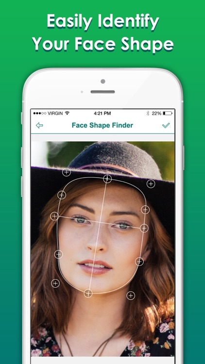 Face Shape Finder Measure Whats My Face Shape By Zhang Dan