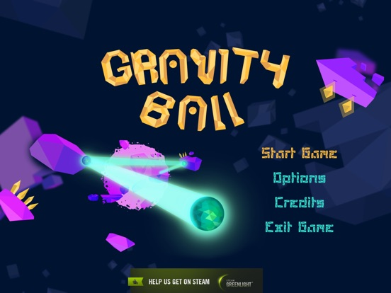 Screenshot #1 for Gravity Ball by Upside Down Bird