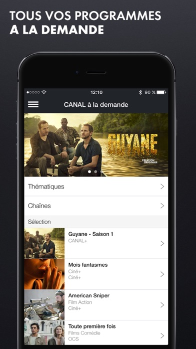 download myCANAL apps 2