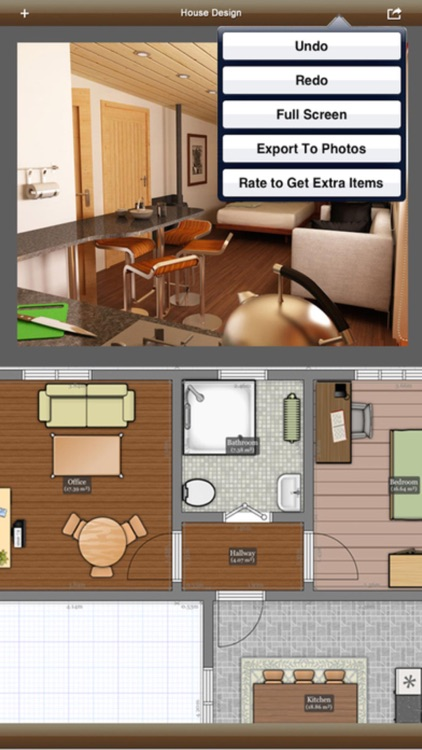 3D Interior Plan - Home Design Idea & Blueprint By Rassulzhan Poltayev