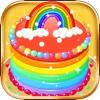 製作彩虹蛋糕 - 好玩的生日蛋糕做飯遊戲
