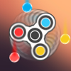 Fidget spinner - color catching