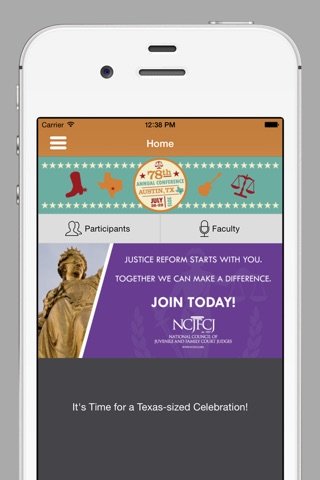 NCJFCJ Conferences screenshot 2