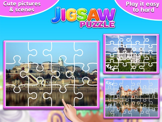 Screenshot #3 for Princess Castle Jigsaw Puzzle - Jiggy Puzzle Pack