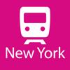 New York Rail Map Lite
