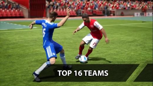 Premier Fußballliga 2017 - Echte Fußballspiele Screenshot