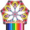Adult Coloring Books - Mandalas - Flamethrower