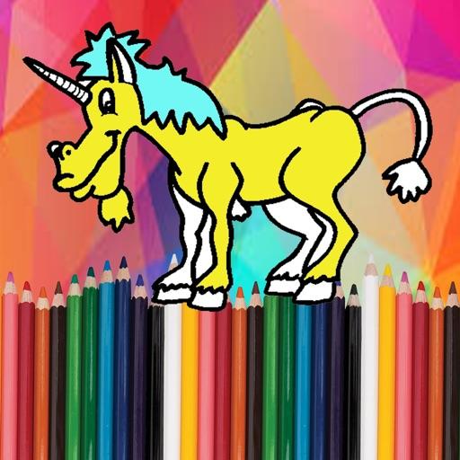 My Game Coloring Unicorn Version iOS App