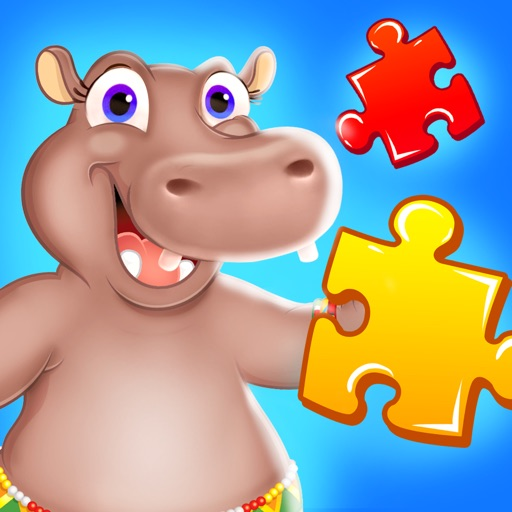 Wild Animal Jigsaw Puzzles for Toddlers iOS App