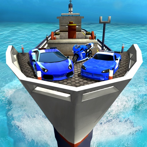 Police Ship Transporter- Tycoon Sailor Force Game