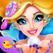 美人鱼公主-女孩子们的化妆、换装游戏