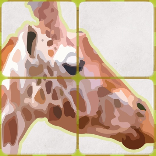 Africa Animal Slide Puzzle iOS App