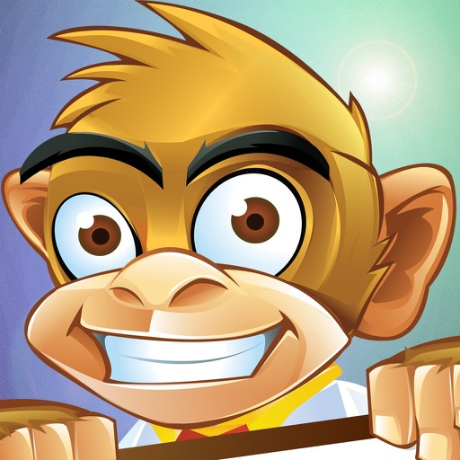 Monkey Mahy Island Scream Go iOS App