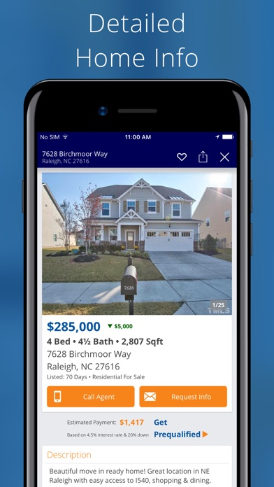 Homes for sale rent on the app store for Home building apps for iphone