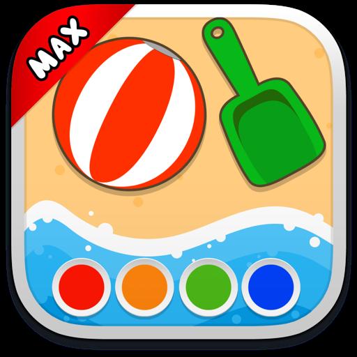 Раскраска - Путешествия MAX