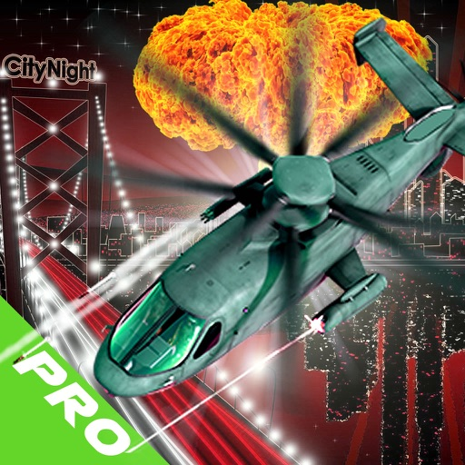 Aggressive Helicopter in pursuit PRO : Sky War iOS App