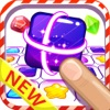 Jelly gems matching games