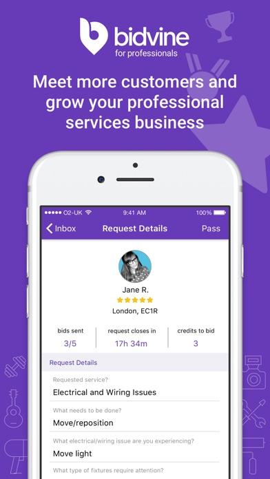 download Bidvine for Professionals appstore review