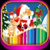 Navidad dibujo para colorear juegos para niños