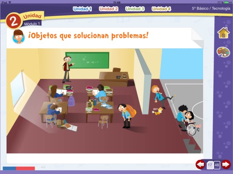 Tecnología 5º Básico screenshot 4