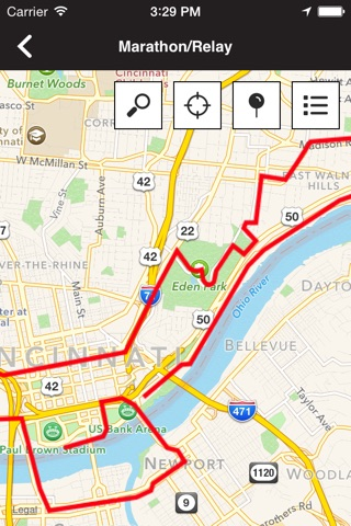 Cincinnati Flying Pig Marathon screenshot 4