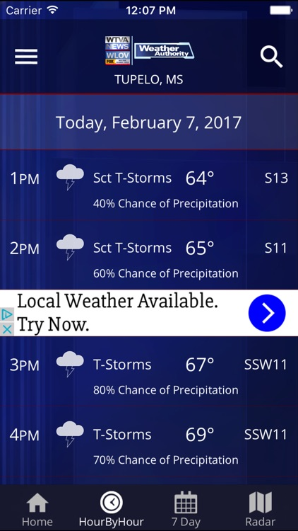 WTVA Weather App by C  Lance Norman