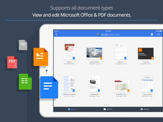 Polaris Office 2018 -Docs, PDF Screenshots